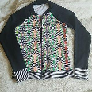 Trina Turk Recreation Zip Jacket